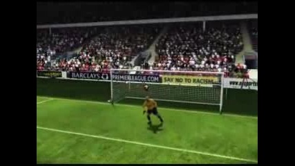 Fifa 09 | Lucas | Liverpool F.c. | Long Range Goal
