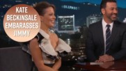 Jimmy Kimmel flustered by Kate Beckinsale's daughter