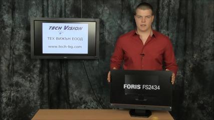 Tech Vision / Тех Вижън Представя Геймърския Монитор - Eizo Foris Fs2434