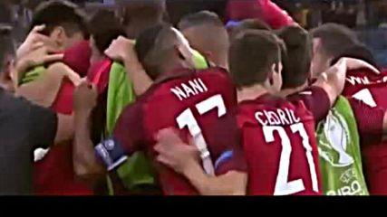 Финал Евро 2016 Португалия- Франция 1: 0 Голът на Едер