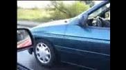 Street racing fun 5min burnout Bmw Opel Ford Manta~.3gp