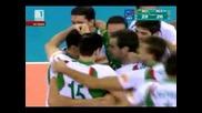 България е на 1/2 финал Еп по волейбол след 3 - 1 срещу Холандия