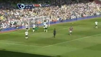 23/08/2009 West Ham vs Tottenham 1:2 Highlights