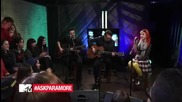 Paramore - Still Into You Live From Mtv