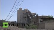 Водените от Саудитска Арабия въздушни удари в Йемен унищожиха резиденцията на бившия президент Салех