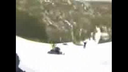 Snowmobile Summersault