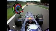 Sebastian Vettel accident spa francochamps Jenson Button