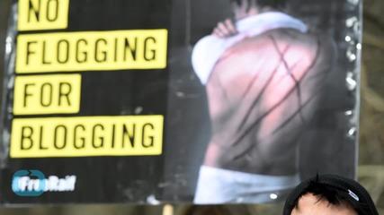 Стотици хора се обявиха против наказанието на Раиф Бадауи