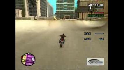 Gta San Andreas - Awesome Bike Stunt