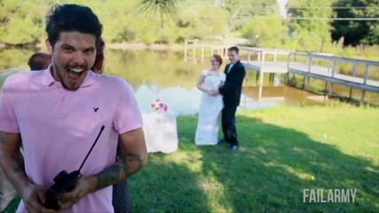 Най-добрите сватбени провали    Failarmy