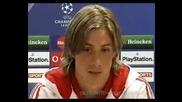 Fernando Torres Interview