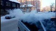 Ето какво означава студ през зимата за шофьорите в Русия