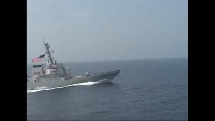 Navy destroyer uss