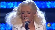 Christina Aguilera - This Is A Mans World @ live 720p Hd