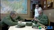 Номера с лъжицата в руската армия !