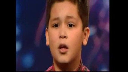 Shaheen Jafargholi - 12 годишен певец - Britains Got Talent 2009 Ep 2