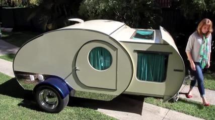 Страхотна малка многофункционална каравана