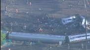 Amtrak Crash Investigators Unsure If Anything Struck Train but Rule Out Bullet