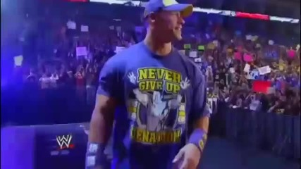 Elimination Chamber 2011 John Cena vs Randy Orton vs Cm Punk