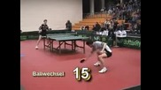 Тенис на Маса - Супер яко разиграване