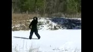 Alarming Bigfoot Video