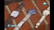 Намерени маркови часовници в канал от чистач