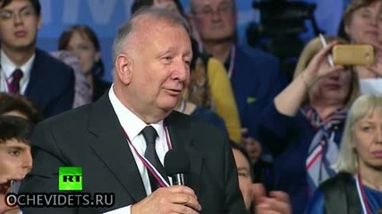 Руският президент Владимир Путин влезе в ролята на преводач с перфектен немски език !