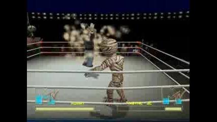 Celibrity Death Match Мумия