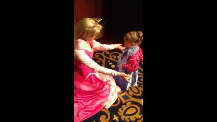 Tallulah meets Cinderella and Aurora