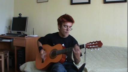Росен Тенев - Lithium ( Nirvana Cover )