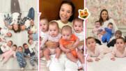 23-годишна рускиня има 11 деца, мечтае за още стотина! Вижте историята на Кристина
