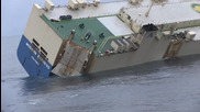 France: Listing cargo ship successfully towed from French coast