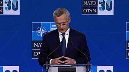 Belgium: Russia 'have no say' whether Ukraine joins NATO - Stoltenberg after summit