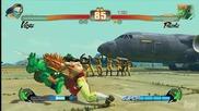 Street Fighter Iv Gameplay - Vega