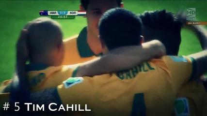 Fifa World Cup 2014 Top 10 Goals