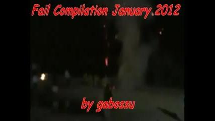 Компилация издънки, смях и пребивания Януари 2012 г