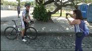 Слънце и красота заобикаля колоездачите в Рио