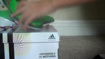 Adidas Adizero Green Pink Unboxing