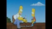 Смешна Част От Филма Сем.симпсън