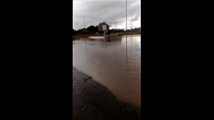 След дъжда в Сарафово - потоп