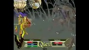 Battleon - Zeruel Vs Lv 500 Nightbane