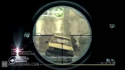 Call of Duty- най-добрите килове за 2011
