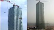 30 етажен хотел за 15 дни строен в Китай