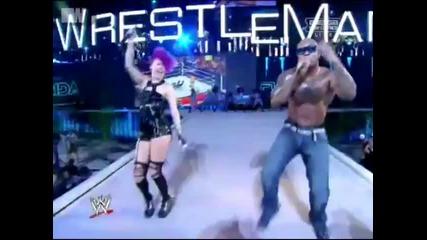 Flo Rida Performance at Wrestlemania 28