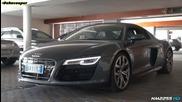 2014 Audi R8 V10 в действие