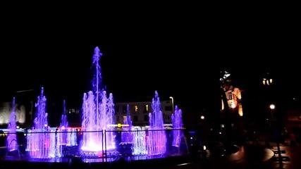 Тестват фонтан на пл. -независимост- във Варна