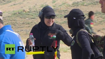 Jordan: First EVER all-female Annual Warrior Competition squad guns it out in Amman
