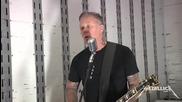 Metallica - Cyanide ( Tuning Room ) - Salesforce, 2015
