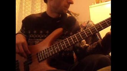 Scorpions - Rock You Like A Hurricane (bass cover)