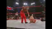 finisher in 60 seconds jackknife Powerbomb (kevin nash)